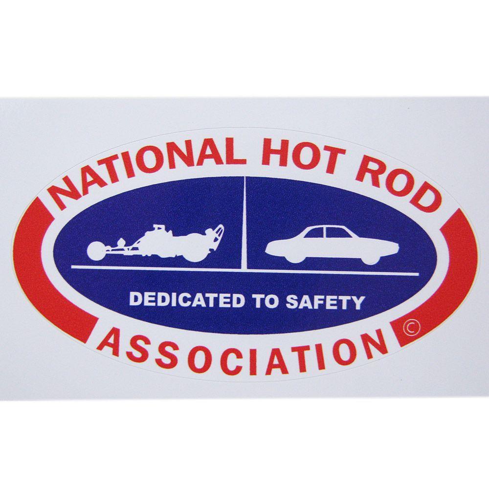 Adesivo modelo National Hot Rod Association - Dedicated to Safety  - Bunnitu Peças e Acessórios