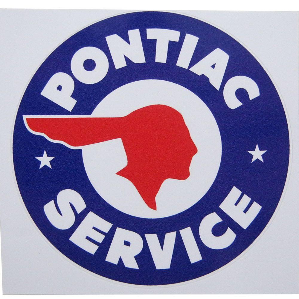 Adesivo modelo Pontiac Service  - Bunnitu Peças e Acessórios