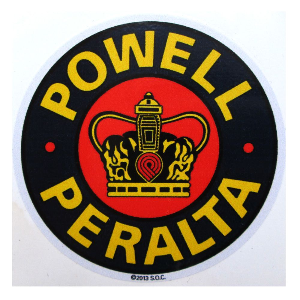 Adesivo modelo - Powell Peralta  - Bunnitu Peças e Acessórios