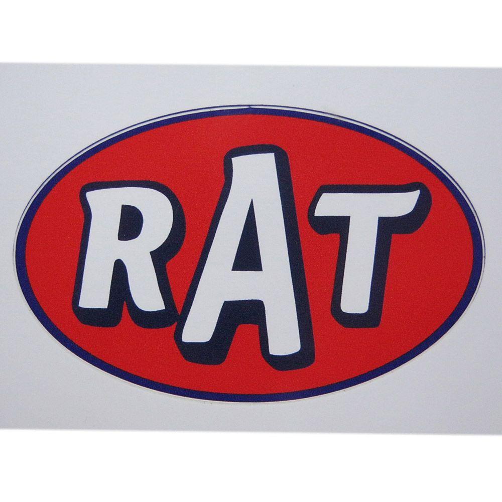 Adesivo modelo RAT  - Bunnitu Peças e Acessórios