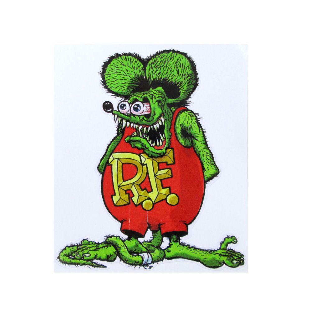 Adesivo modelo Rat Fink  - Bunnitu Peças e Acessórios