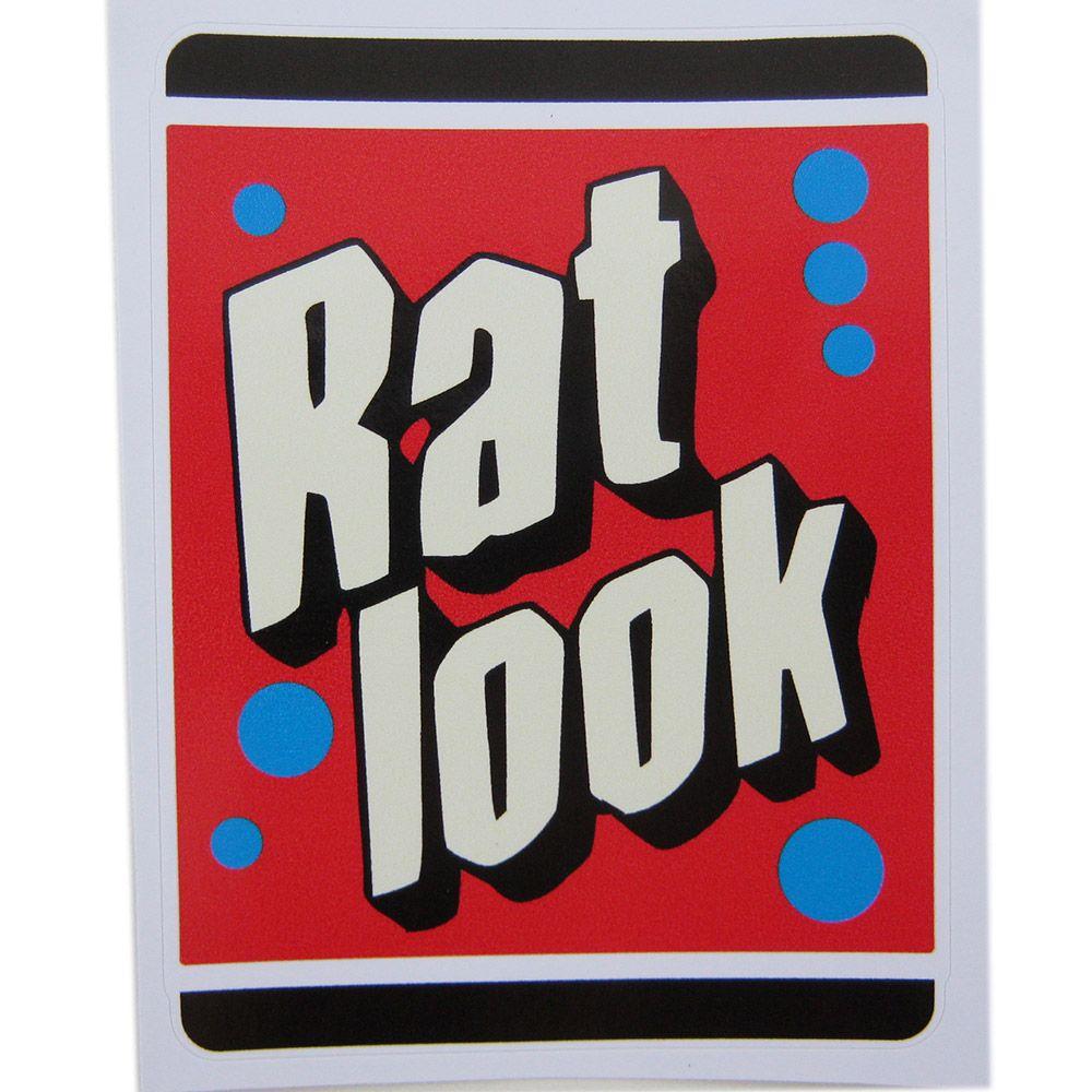 Adesivo modelo Rat Look  - Bunnitu Peças e Acessórios
