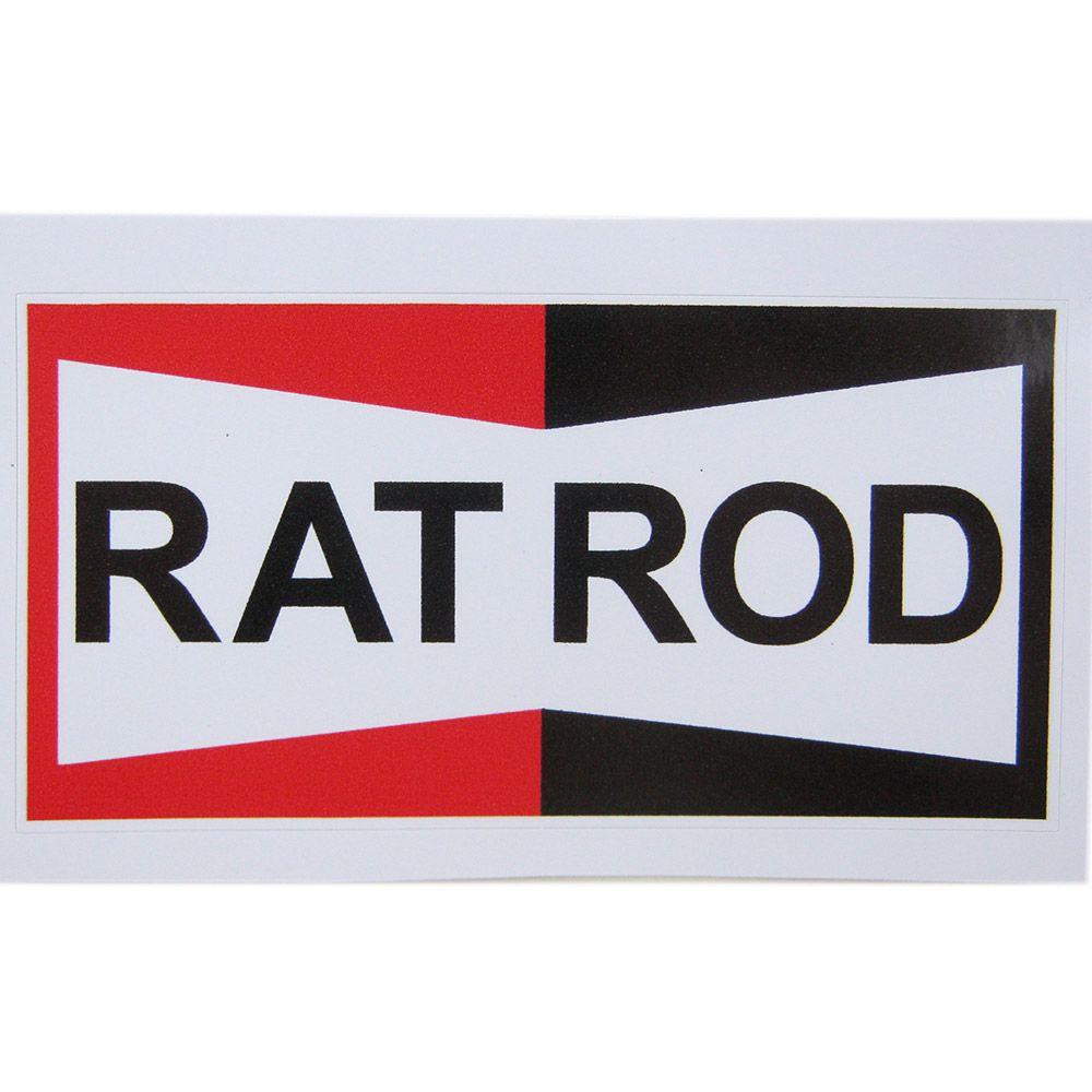Adesivo modelo Rat Rod  - Bunnitu Peças e Acessórios