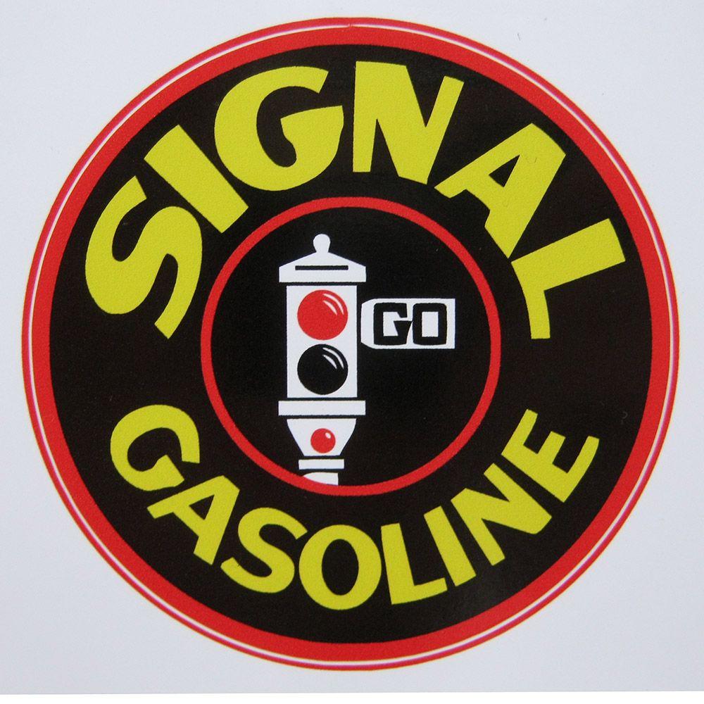 Adesivo modelo Signal Gasoline  - Bunnitu Peças e Acessórios