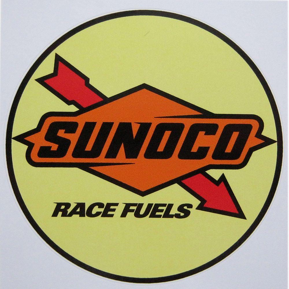 Adesivo modelo Sunoco Race Fuels