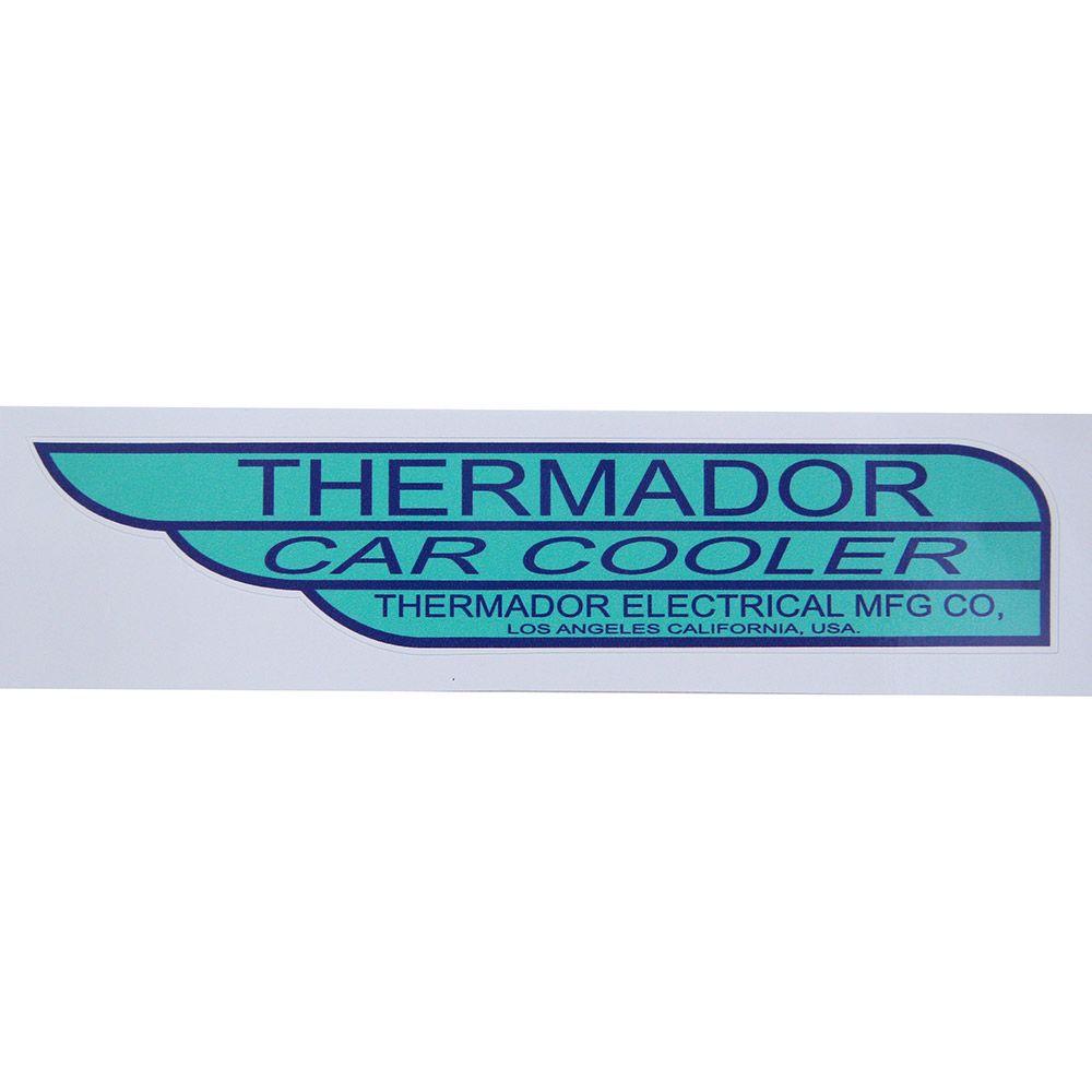 Adesivo modelo Thermador Car Cooler  - Bunnitu Peças e Acessórios