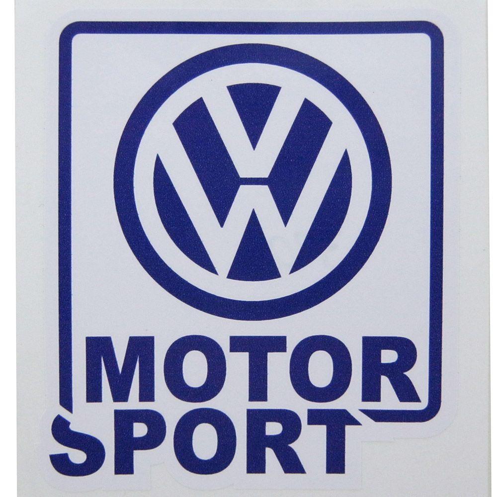 Adesivo modelo VW Motor Sport  - Bunnitu Peças e Acessórios