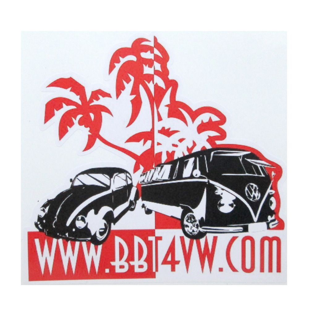 Adesivo modelo - WWW.BBT4VW.COM  - Bunnitu Peças e Acessórios