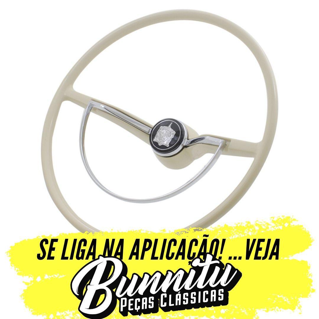 Aro Buzina Linha Standard Volante VW Fusca até 1973 Karmann Ghia  - Bunnitu Peças e Acessórios