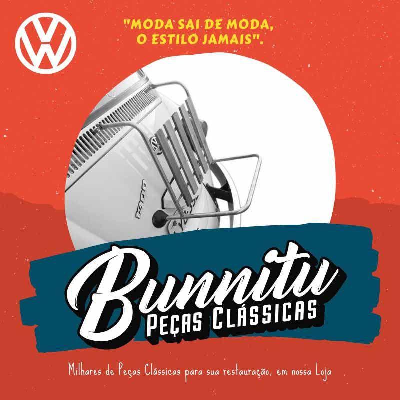 Bagageiro Traseiro Cor Marfim Tampa do Motor VW Fusca  - Bunnitu Peças e Acessórios