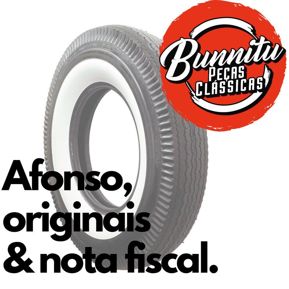 Banda faixa branca larga para pneu aro 15  - Bunnitu Peças e Acessórios