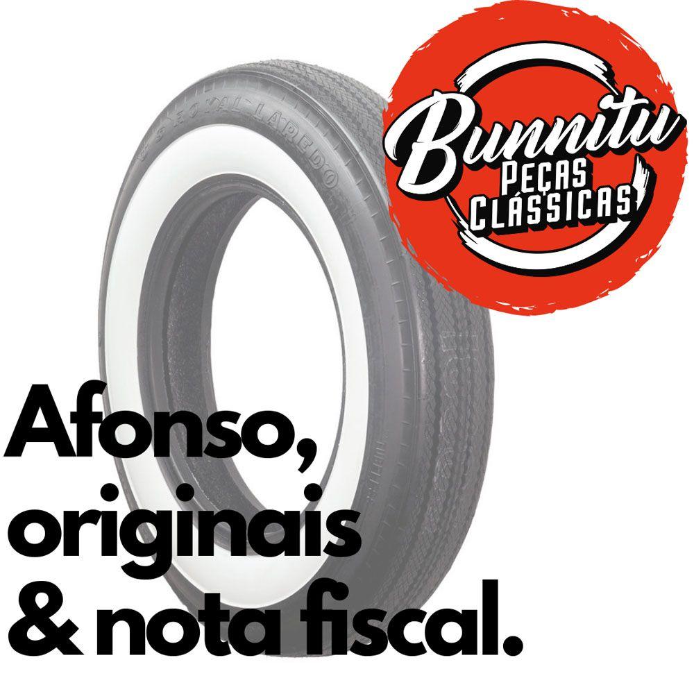 Banda faixa branca para pneu aro 13  - Bunnitu Peças e Acessórios