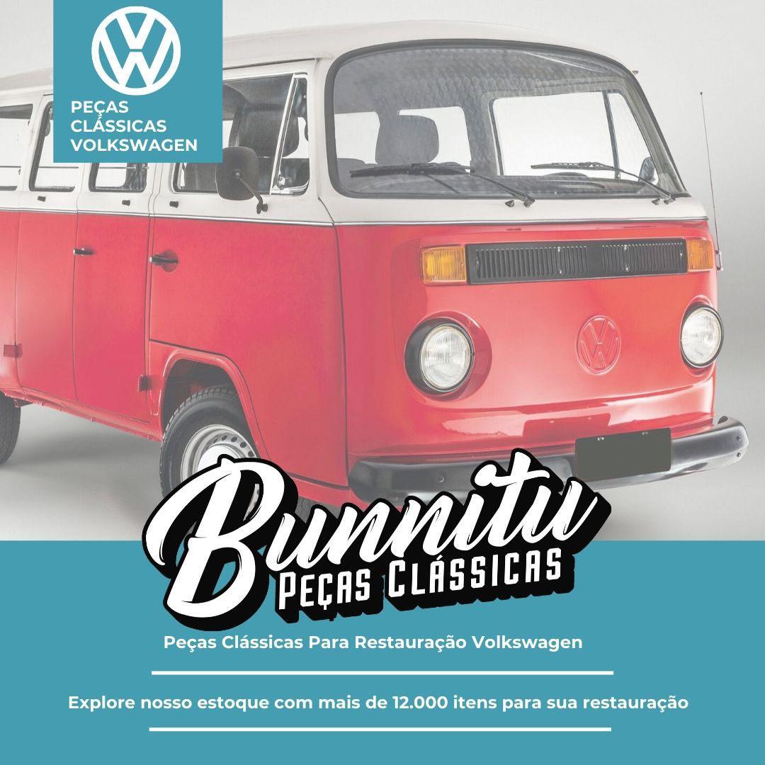 Bloco Óptico Farol VW Fusca 1976 à 1996 e Kombi Clipper Original com Logo Arteb  - Bunnitu Peças e Acessórios