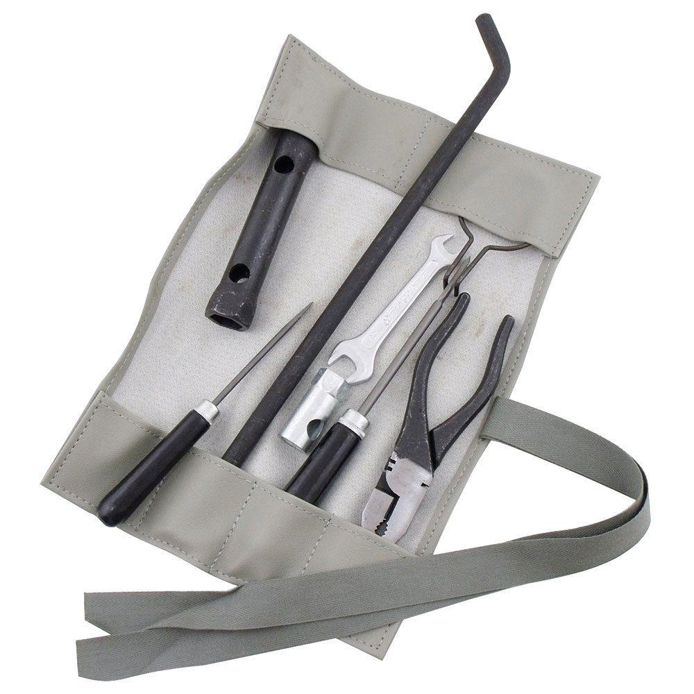 Bolsa de ferramentas na cor cinza para VW Fusca 1200 e 1300  - Bunnitu Peças e Acessórios