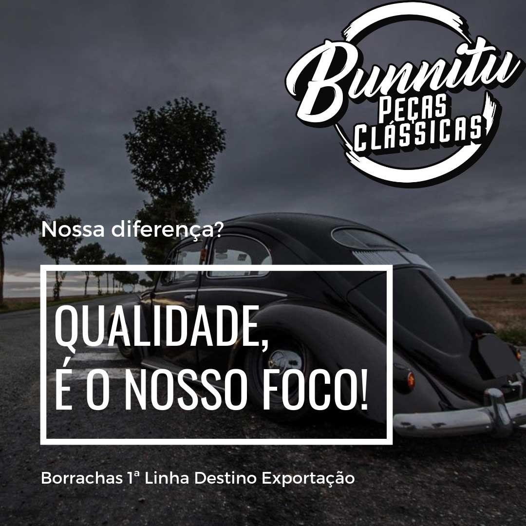 Borracha coifa do freio de mão para VW Fusca e Karmann Ghia - Qualidade Superior  - Bunnitu Peças e Acessórios