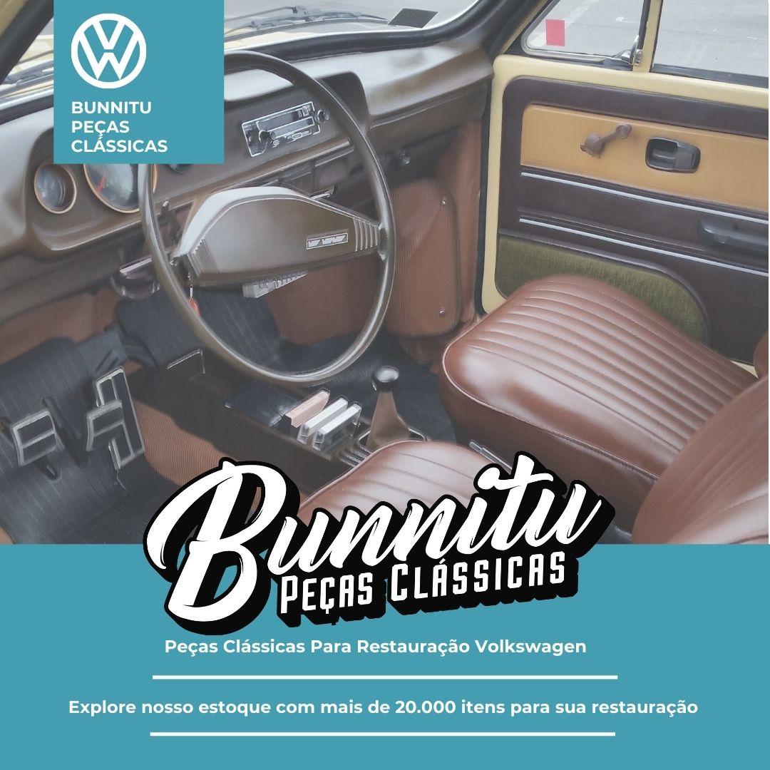 Botão de ventilação para painel do VW Fusca, Passat, Kombi, Brasília e Variant  - Bunnitu Peças e Acessórios