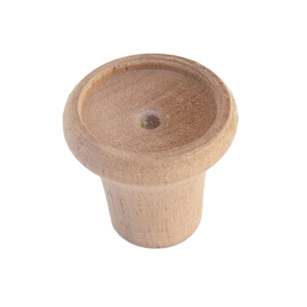 Botão em madeira do painel para MP Lafer  - Bunnitu Peças e Acessórios