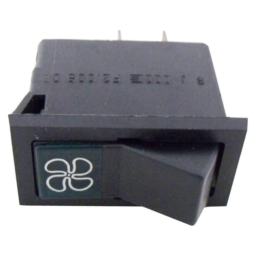 Botão interruptor do ventilador para FIAT 147  - Bunnitu Peças e Acessórios