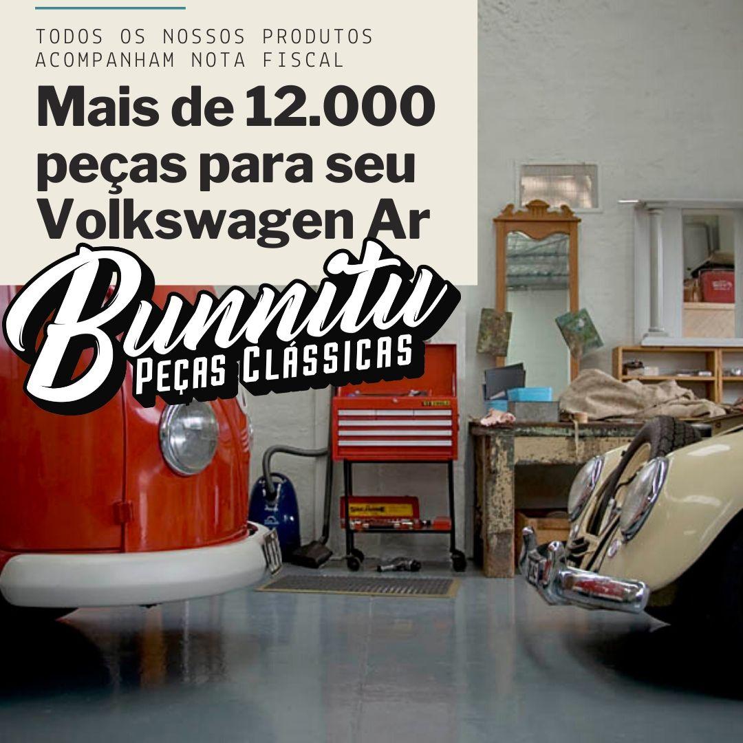 Botão Interruptor Luz Cortesia Pino Curvo VW Fusca 1300 1500 Brasília  - Bunnitu Peças e Acessórios