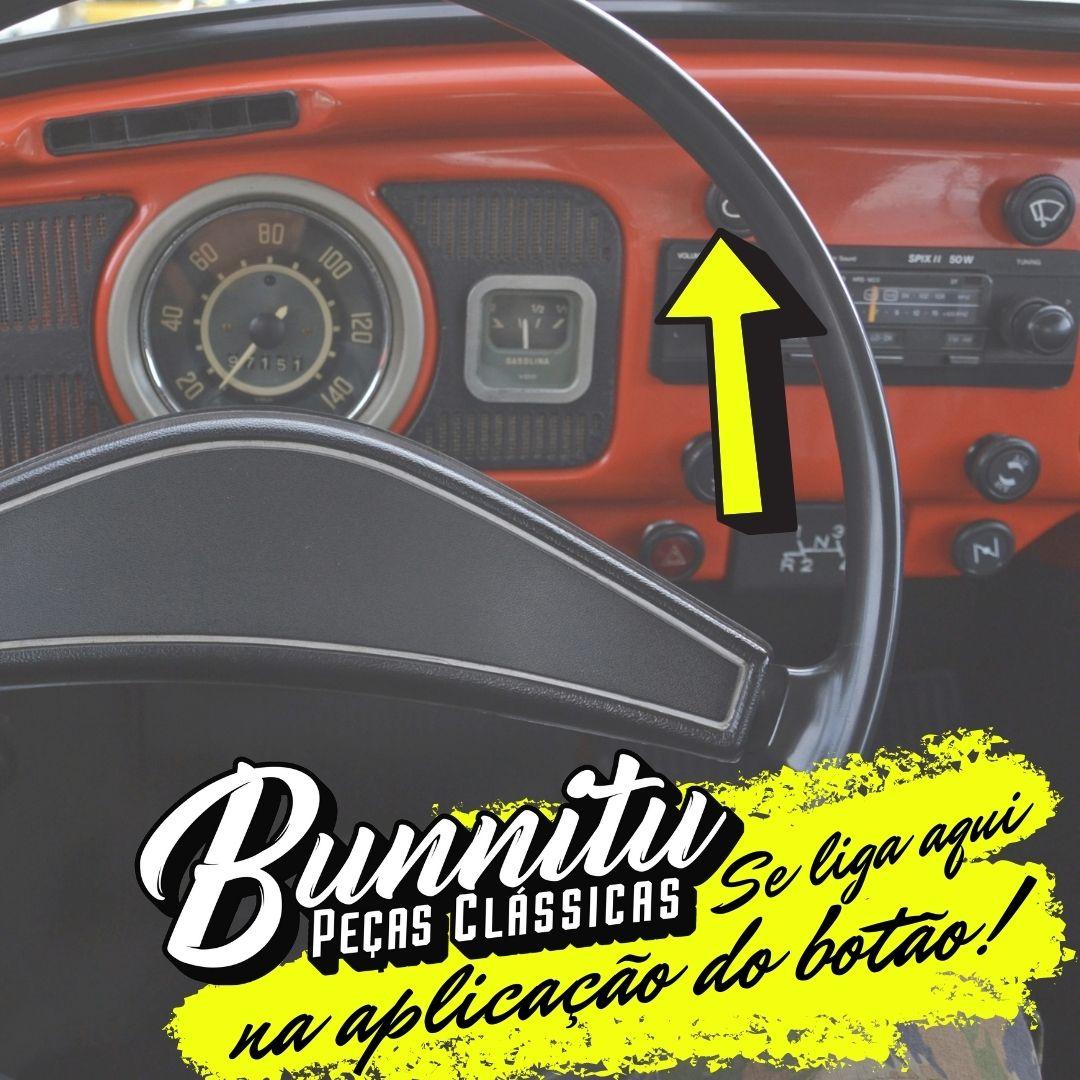 Botão luz de farol para painel VW Fusca, Passat, Kombi, Brasilia e Variant  - Bunnitu Peças e Acessórios