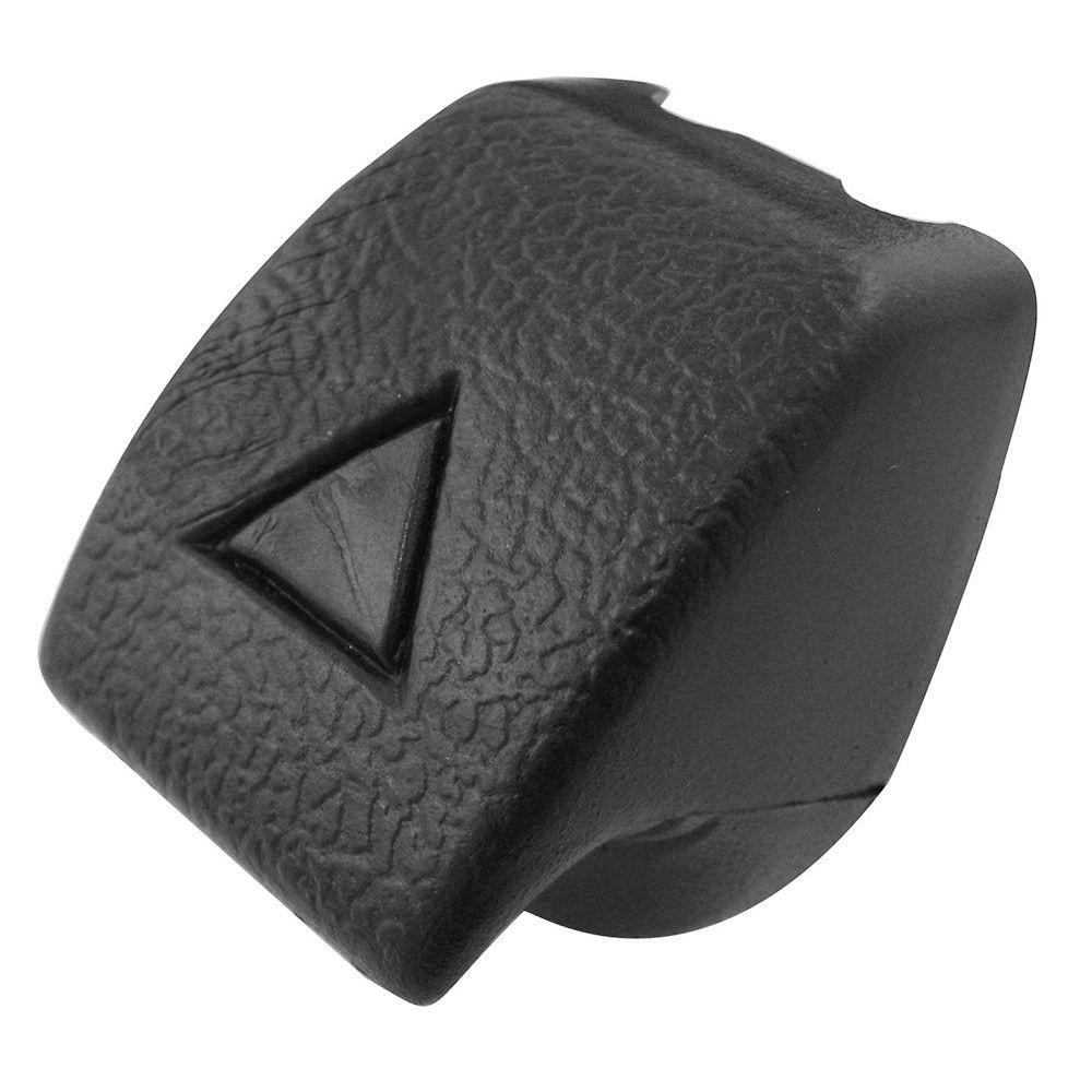 Botão preto da trava do encosto do banco para VW Fusca, Passat, Brasilia e Variant  - Bunnitu Peças e Acessórios