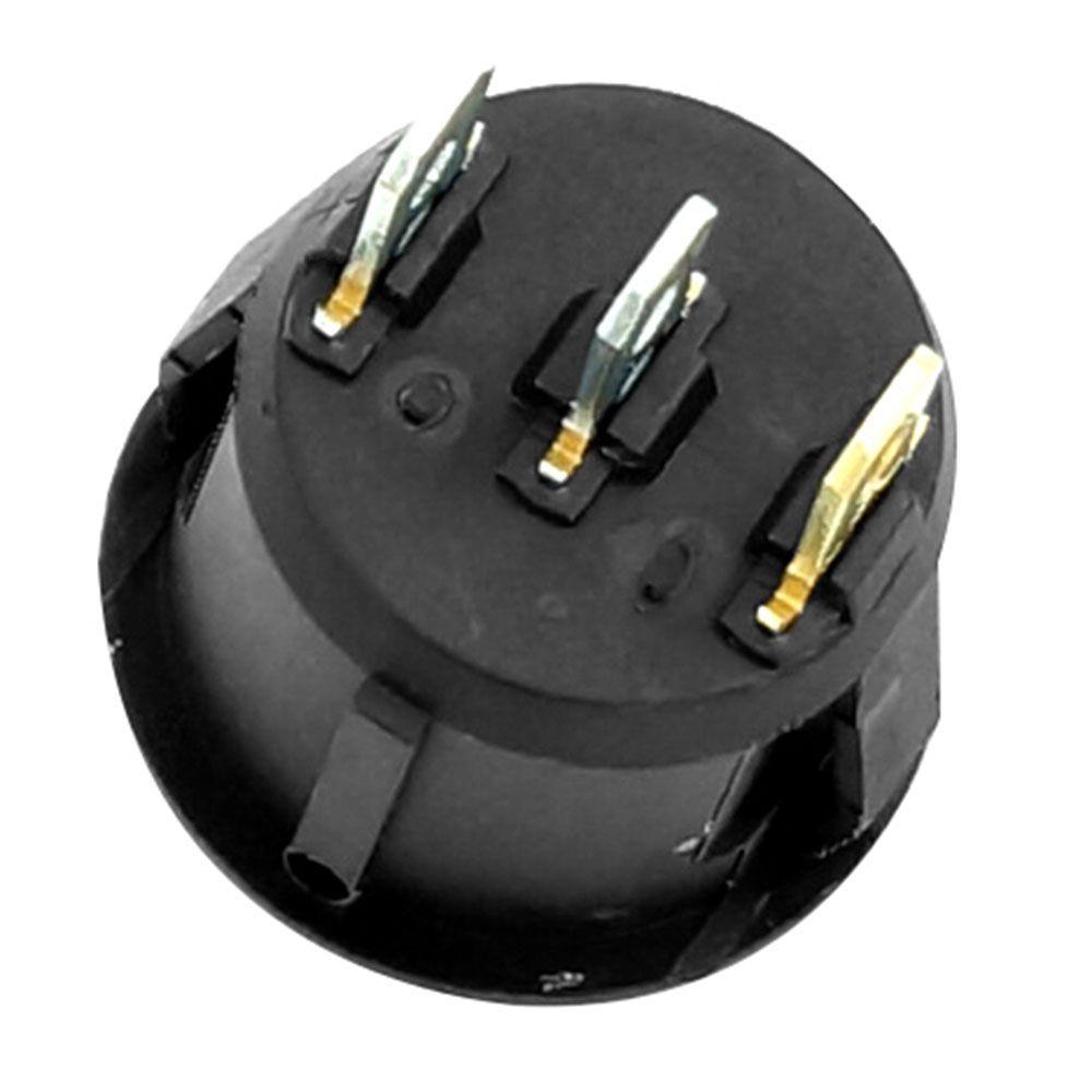 Botão Tic Tac Modelo Hella Comet 500 com luz vermelha  - Bunnitu Peças e Acessórios