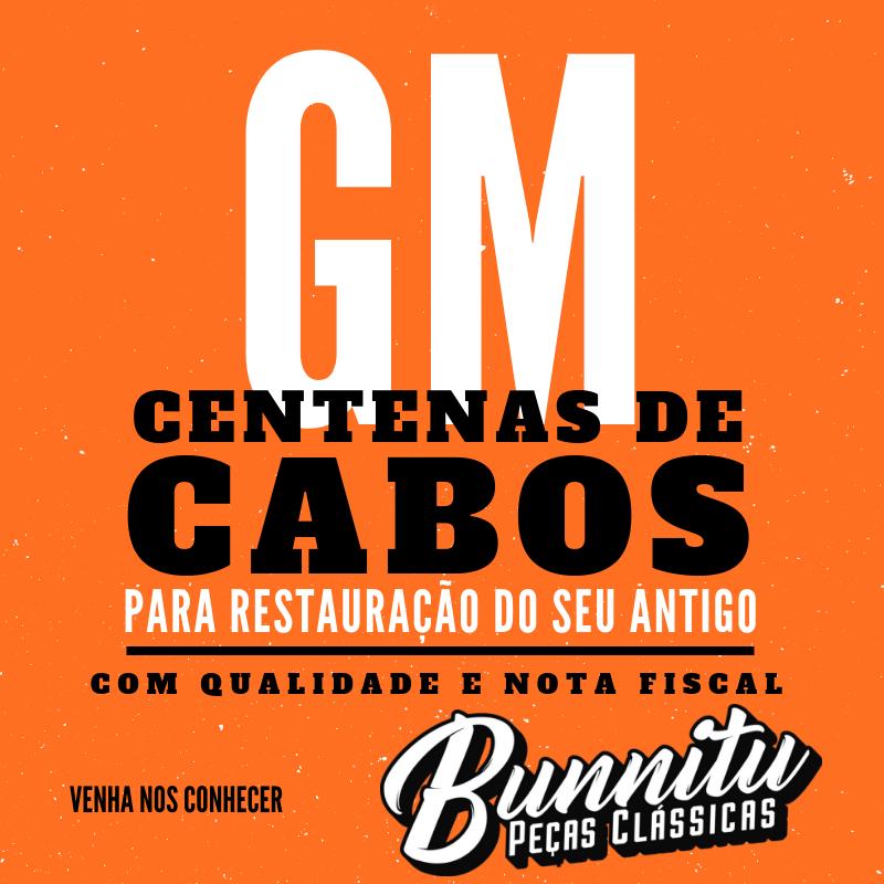 Cabo da embreagem para GM Chevrolet Opala  - Bunnitu Peças e Acessórios