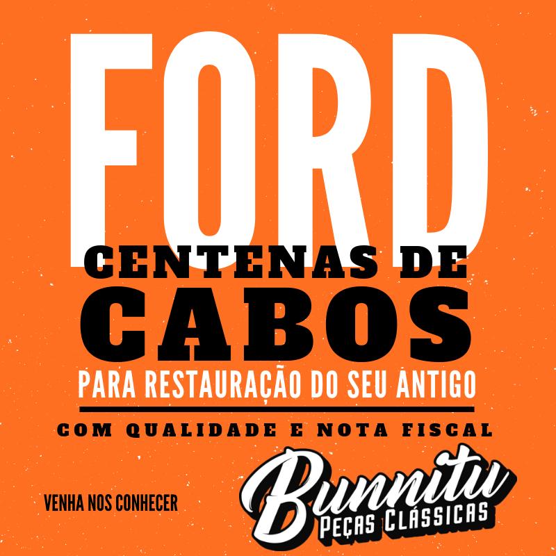Cabo do freio de mão para Ford Corcel 1 e Belina 1 1966 à 1977  - Bunnitu Peças e Acessórios