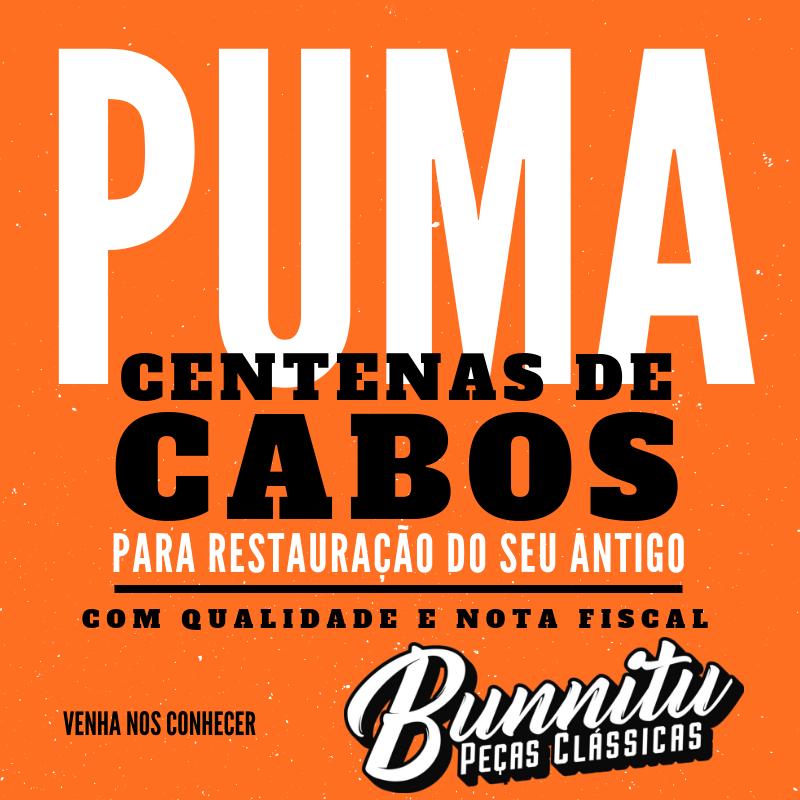 Cabo do freio de mão para Puma até 1975 - Mecânica VW  - Bunnitu Peças e Acessórios