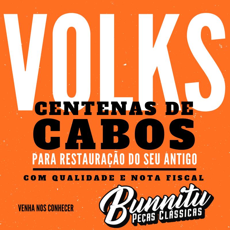 Cabo do freio de mão para VW Fusca e Brasília  - Bunnitu Peças e Acessórios