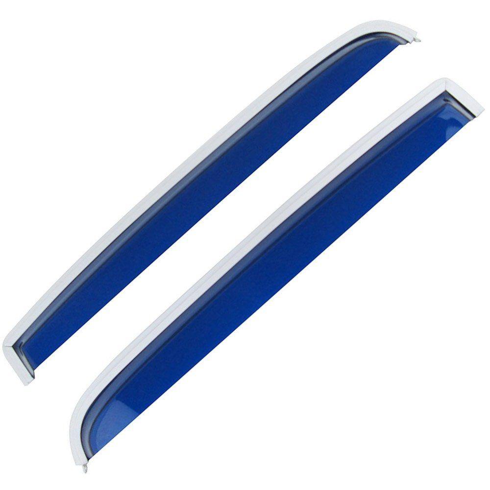 Calha de chuva acrílica azul para VW Fusca  - Bunnitu Peças e Acessórios