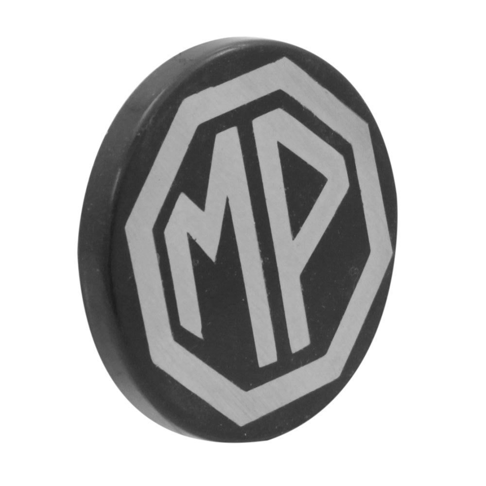Calota centro de roda com emblema para MP Lafer  - Bunnitu Peças e Acessórios