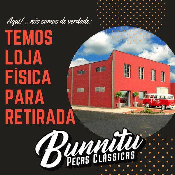 Calota copinho cromada de roda 4 furos para VW Fusca, Variant, Brasília, Karmann Ghia e TL  - Bunnitu Peças e Acessórios