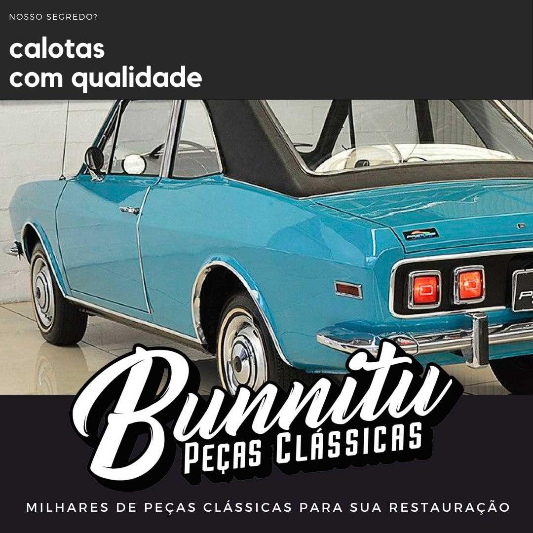 Calota de roda para Ford Corcel e Belina 1971 à 1974  - Bunnitu Peças e Acessórios