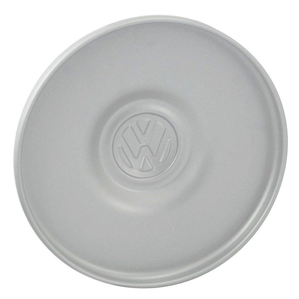 Calota modelo original na cor cinza para roda 4 furos VW Kombi  - Bunnitu Peças e Acessórios