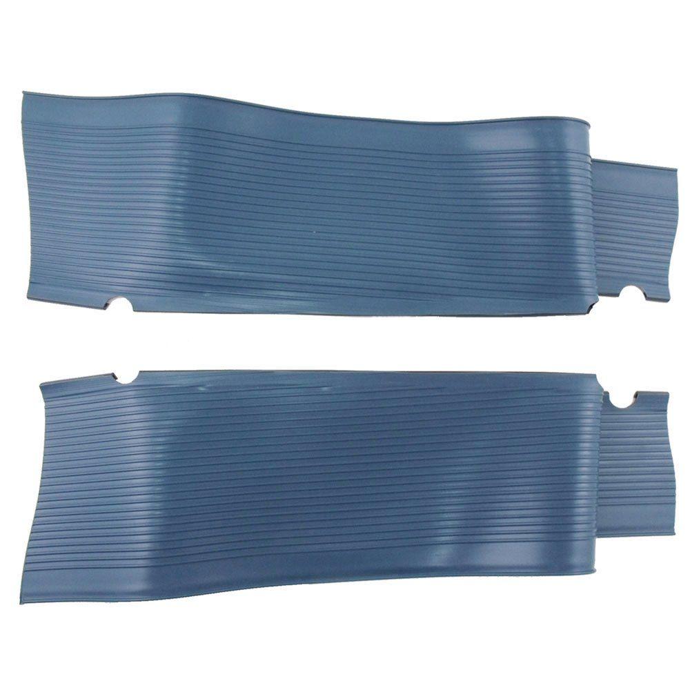 Capa de borracha importada na cor azul pérola para estribo do VW Fusca  - Bunnitu Peças e Acessórios