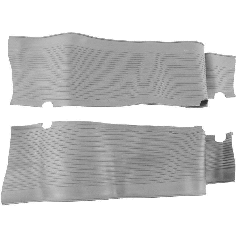 Capa de borracha importada na cor cinza para estribo do VW Fusca  - Bunnitu Peças e Acessórios