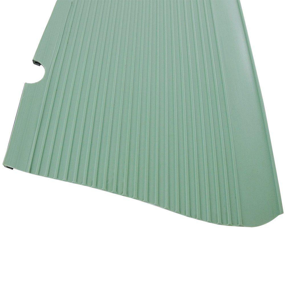 Capa de borracha importada na cor verde claro para estribo do VW Fusca  - Bunnitu Peças e Acessórios