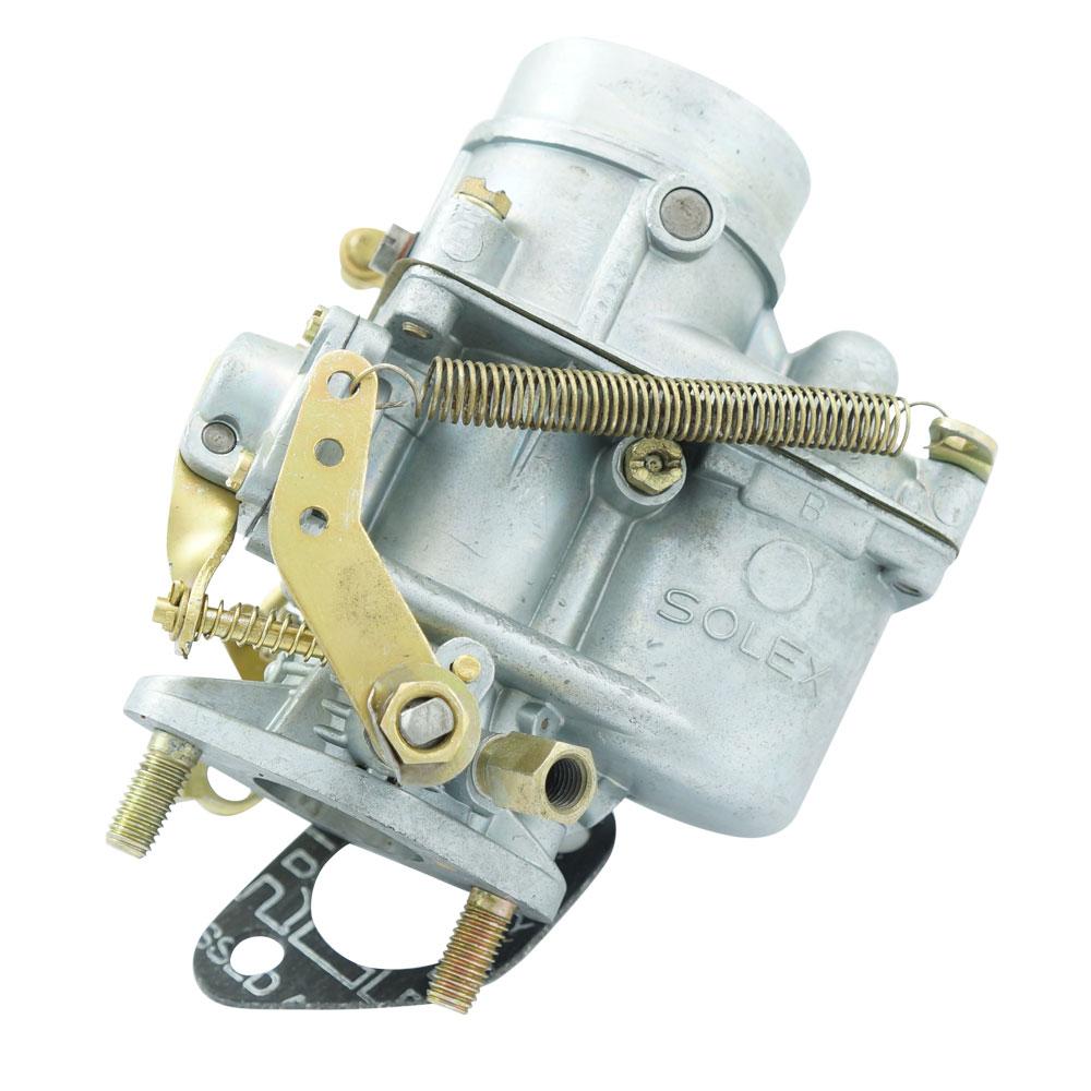 Carburador 28 PIC Solex, recondicionado para VW Fusca, Karmann Ghia e Kombi 1200  - Bunnitu Peças e Acessórios