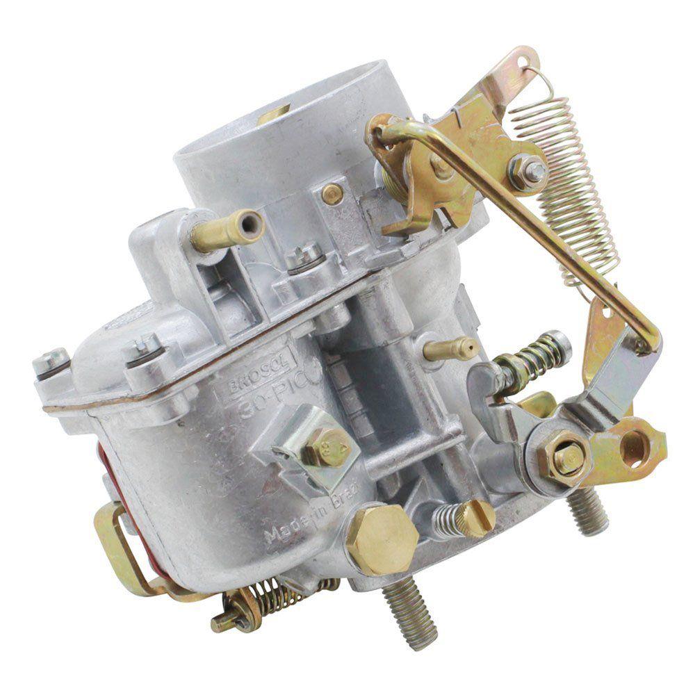 Carburador 30 PIC Solex Brosol com Regulador Elétrico M.L para VW Fusca 1300 - Gasolina  - Bunnitu Peças e Acessórios