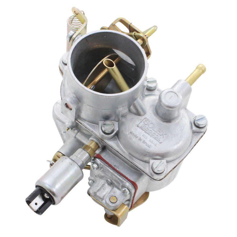 Carburador 30 PIC Solex Brosol com Regulador Elétrico M.L para VW Fusca, Brasília, Karmann Ghia e Kombi 1500 e 1600 - Ga  - Bunnitu Peças e Acessórios