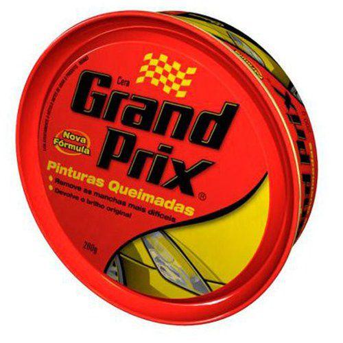 Cera Grand Prix - Pinturas Queimadas 200G  - Bunnitu Peças e Acessórios