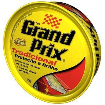 Cera Grand Prix - Tradicional 200G  - Bunnitu Peças e Acessórios