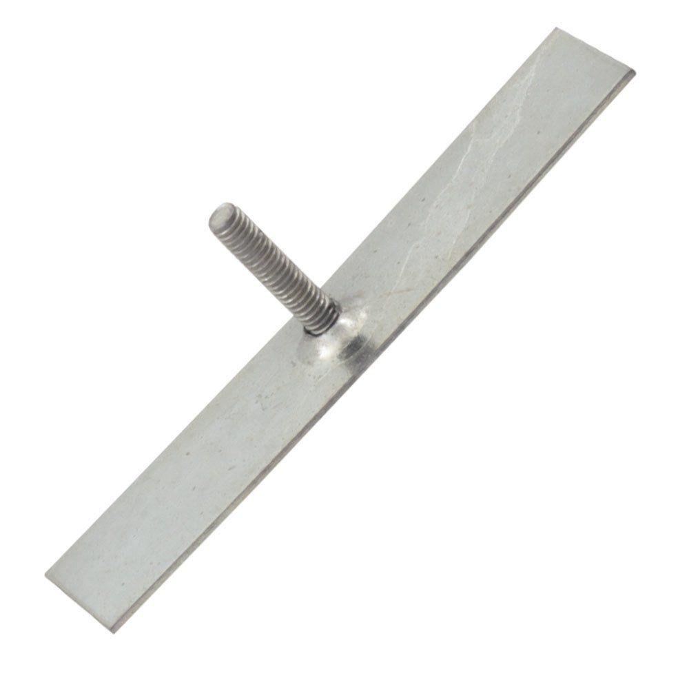 Chapa grampo de metal 18x80 mm para fixação dos frisos laterais Ford Corcel  - Bunnitu Peças e Acessórios