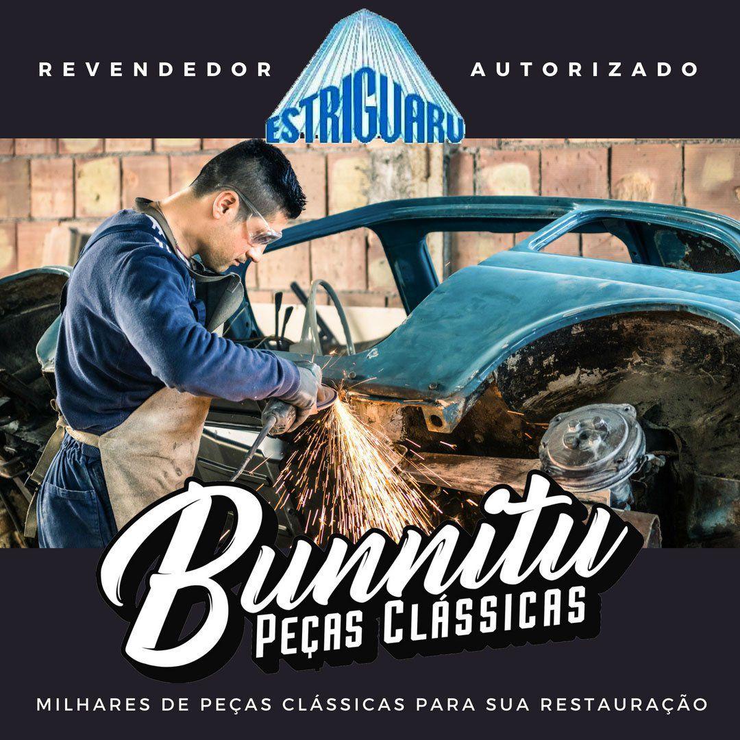 Chapa para fixação do banco central VW Perua Kombi - Marca Estriguaru  - Bunnitu Peças e Acessórios