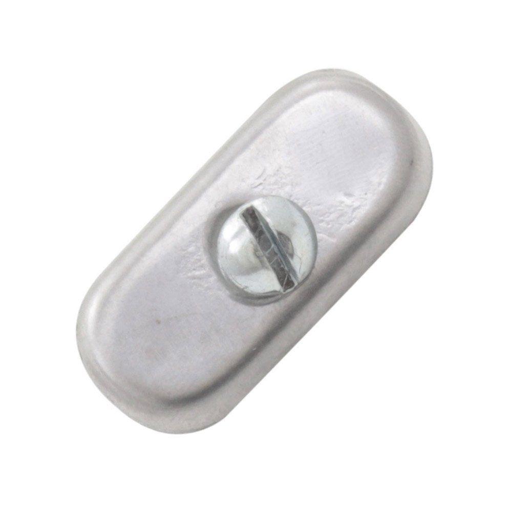 Chapinha de inox para fixação da moldura da placa de identificação  - Bunnitu Peças e Acessórios