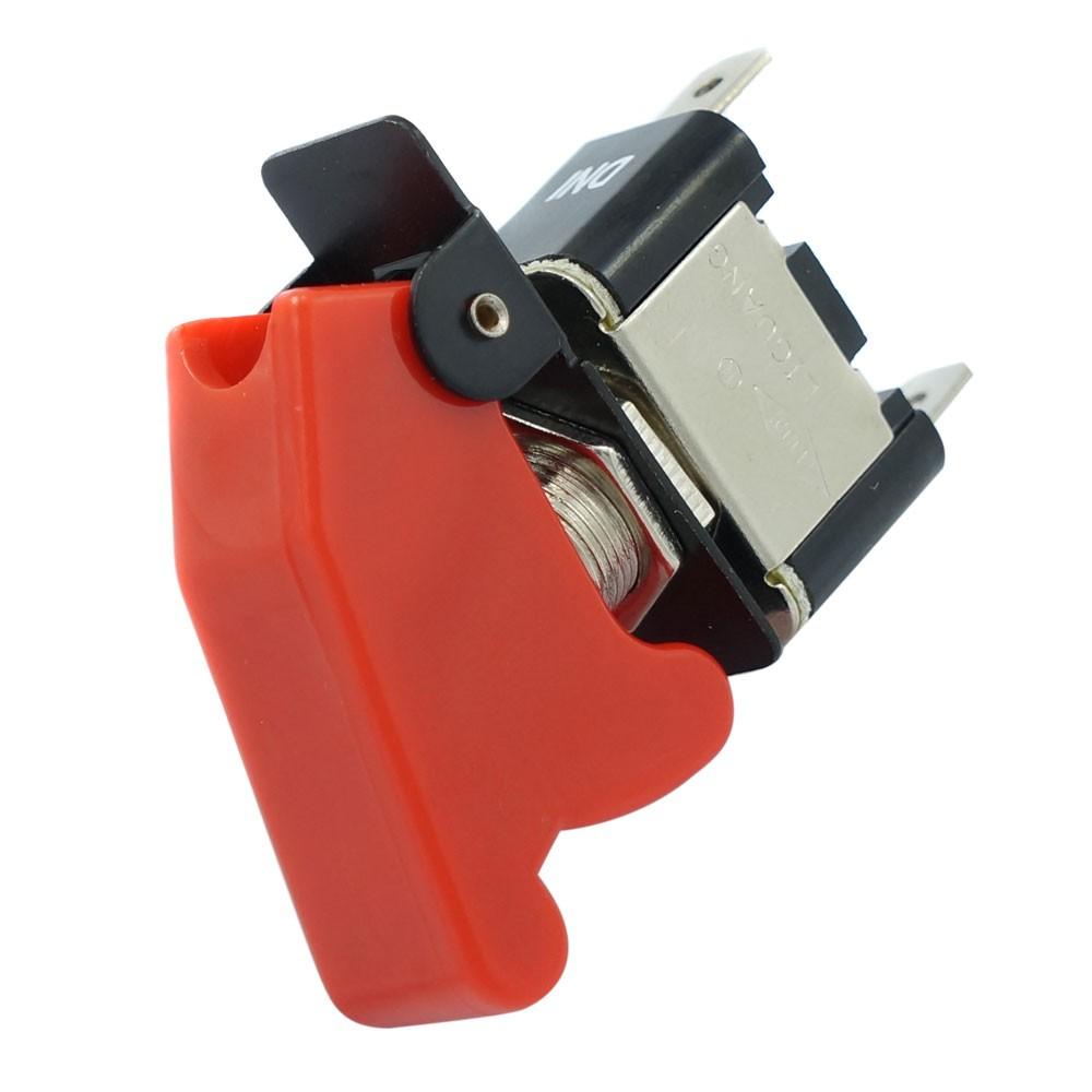 Chave Geral com Capa Cor Vermelha Modelo Caça para Aplicação Universal  - Bunnitu Peças e Acessórios