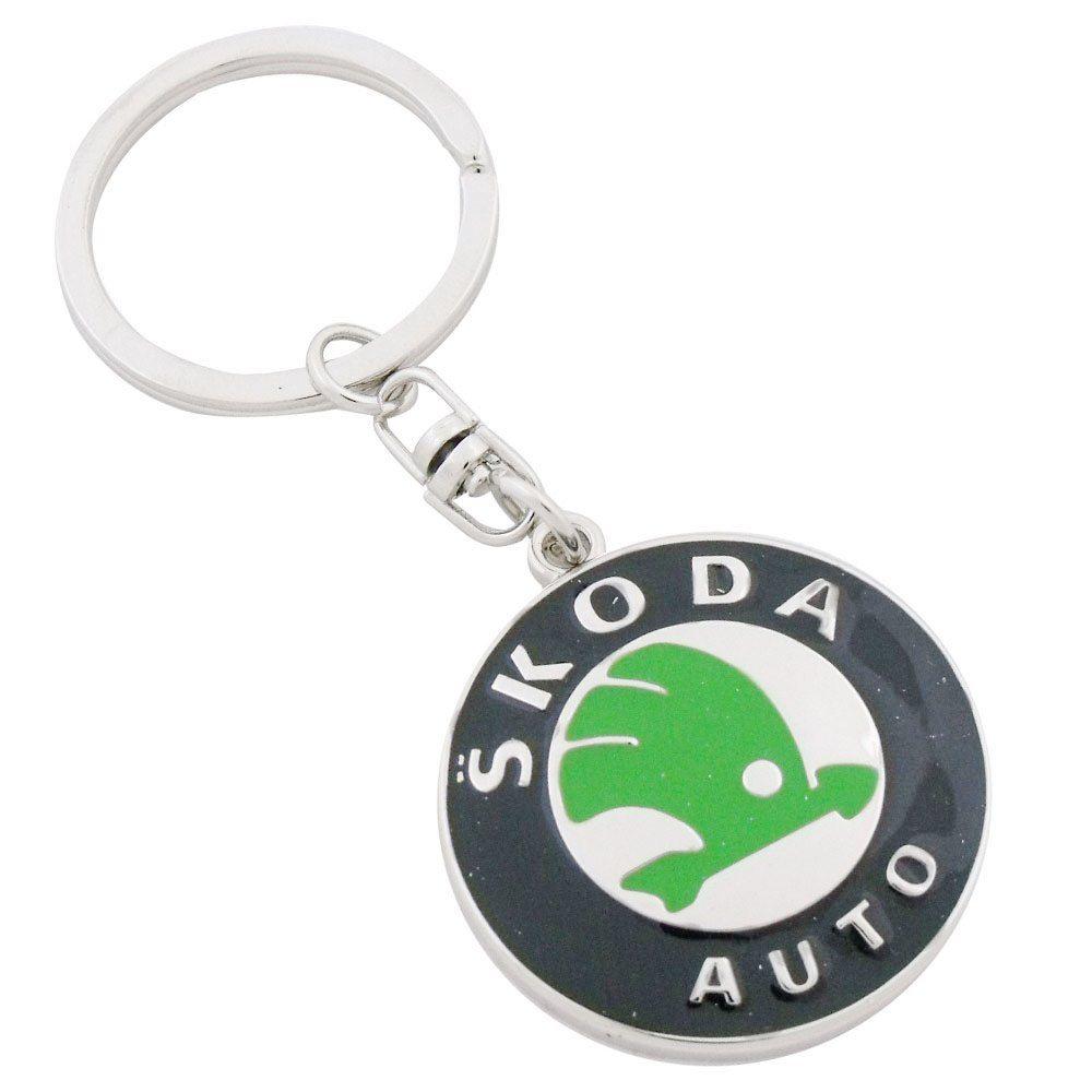 Chaveiro 1º linha Skoda Auto  - Bunnitu Peças e Acessórios