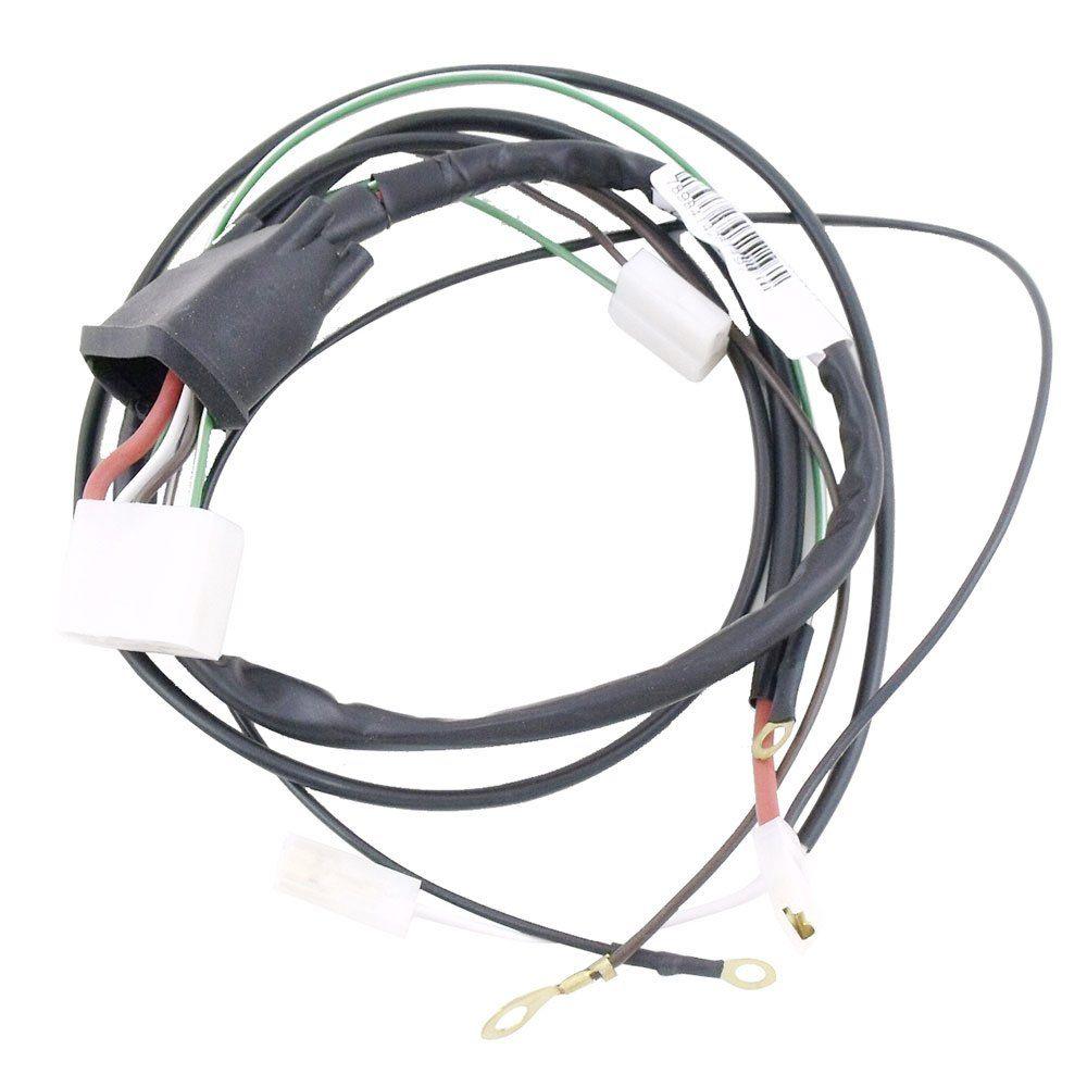 Chicote da ignição eletrônica para GM Opala e Caravan 1989 - Com fio resistivo  - Bunnitu Peças e Acessórios