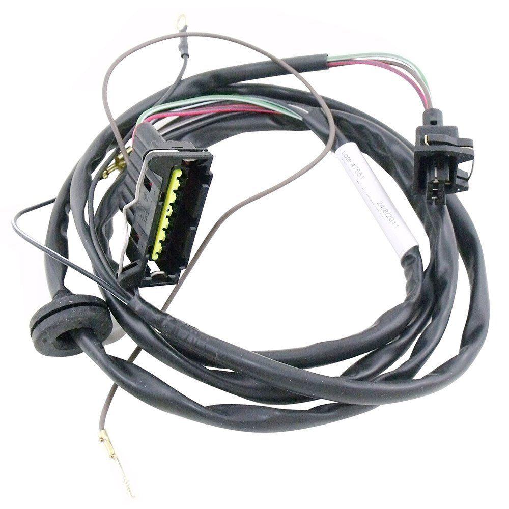 Chicote da ignição eletrônica para VW Fusca e Kombi com 3 fios no distribuidor  - Bunnitu Peças e Acessórios